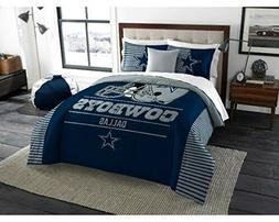 055--> Dallas Cowboys - 3 Piece KING Size Printed Comforter