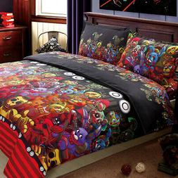 4pcs Kids Bedding Set Duvet Cover Set Comforter Covers Flat