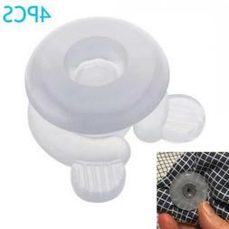4x Duvet Clips Bed Sheets Clasp Cover Quilt Fastener Gripper