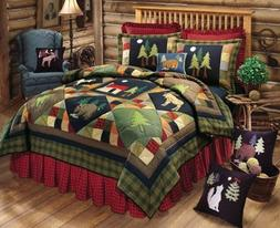 C&F Home Timberline Collection King Quilt, 100 by 90-Inch