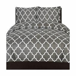 Utopia Bedding Printed Duvet Cover Set  - Hotel Quality Luxu