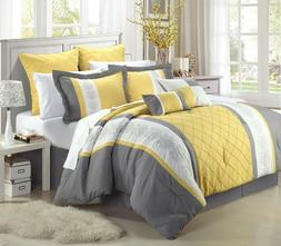 Chic Home Arlington 12-Piece Bed in a Bag Comforter Se