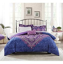 Full Size Bedding Set Bed In A Bag Microfiber Comforter Mode