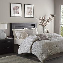 Madison Park Biloxi Cal King Size Bed Comforter Set Bed In A