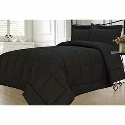 Black Comforter Sets Down Alternative Twin Home &amp Kitchen