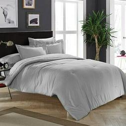 BYB Chino Alloy Gray Comforter  Grey Full