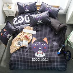 Dog Cartoon animal Duvet/Quilt/Comforter cover Pillowcase be