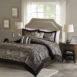 King Size Comforter Set - 5-Piece - Charlize King Jacquard C