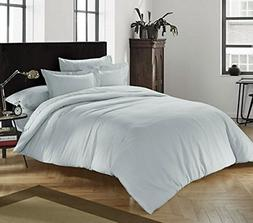 Byourbed Chino Glacier Gray Queen Comforter