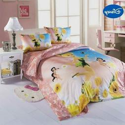 disney cartoon flower fairy print comforter bedding