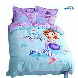 DISNEY little Mermaid bedding set twin full queen king size