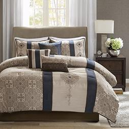 Madison Park Donovan Queen Size Bed Comforter Set Bed in A B