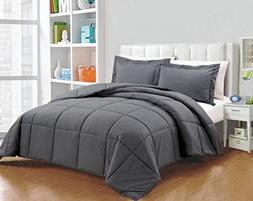 Chezmoi Collection Down Alternative Comforter 2-Piece Twin S