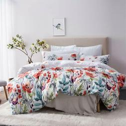 Duvet Cover Set Floral Boho Hotel Bedding Sets Comforter Cov