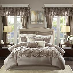 Madison Park Essentials Joella Cal King Size Bed Comforter S