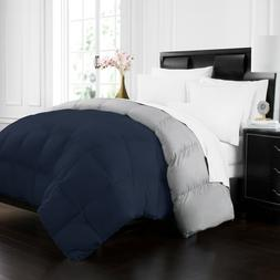 Hotel Collection Goose Down Alternative Reversible Comforter