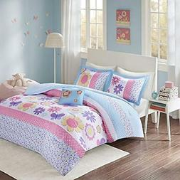 Comfort Spaces - Happy Daisy Kid Comforter Set - 3 Piece - B