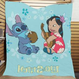 Hot Selling Custom Lilo And Stitch Bedding Bedspreads Home C