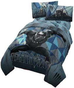 Jay Franco Marvel Black Panther Blue Tribe Twin Comforter -