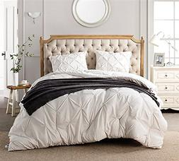 Byourbed Jet Stream Pin Tuck Twin XL Comforter