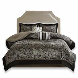 Comfort Spaces King Size Comforter Set - 5-Piece - Charlize