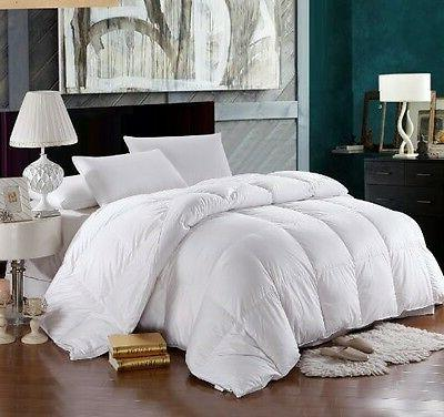 1200 thread count queen size bed goose