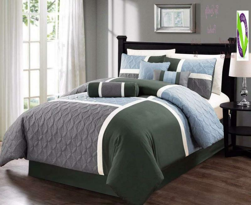 Chezmoi Quilted Patchwork Set