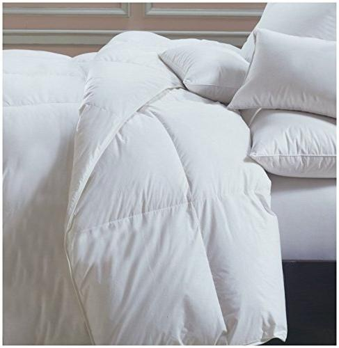 Superior Solid Down Medium for Season, Warm, & King Bed