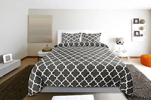 Utopia Bedding Duvet Cover Set Quality Brushed Microfiber and Durable and Resistant Machine