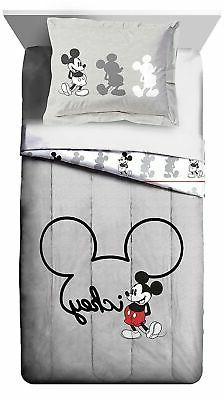 Jay Franco Disney Mickey Mouse Jersey Twin/Full Comforter -