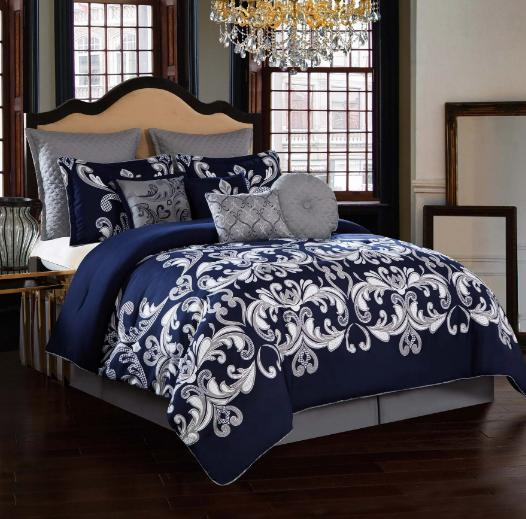 king size or queen comforter set bedding