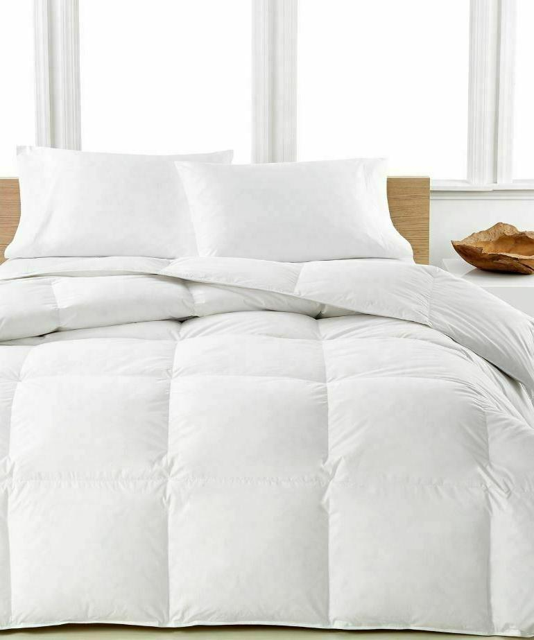 100% Egyptian TC Luxury™ Comforter Goose Gray