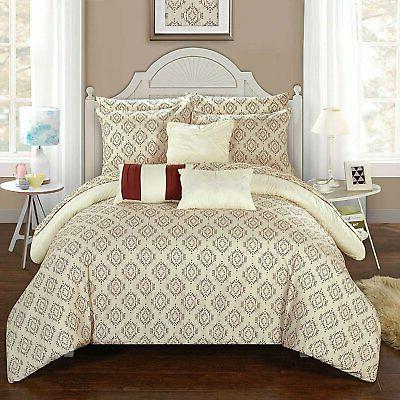 Chic Home Maddie Piece Reversible in a Pleat...