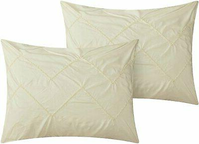 Chic Home Piece Reversible Bed in a Bag Pleat...