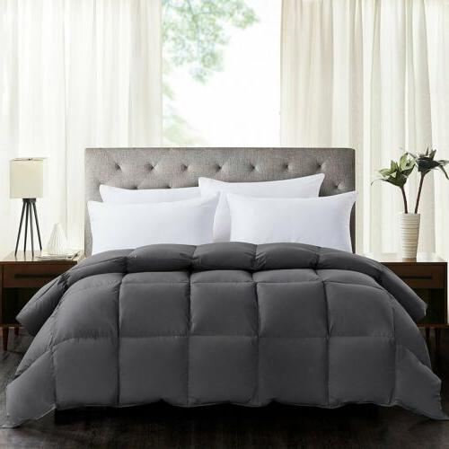 Luxury Goose Alternative Comforter King 11