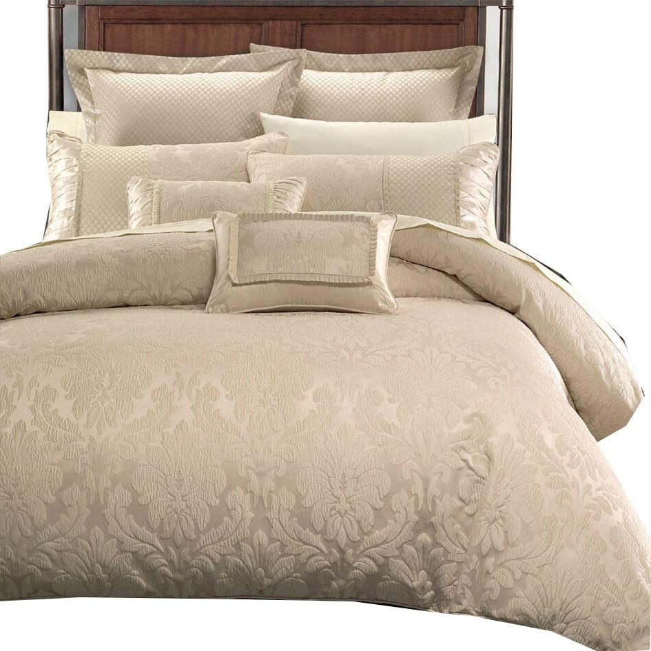 Sara Contemporary Jacquard Comforter, 8-Piece Decorative Lux