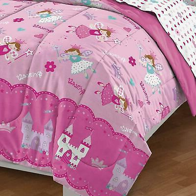 Twin 5 Piece Girls in a Bag Bedding
