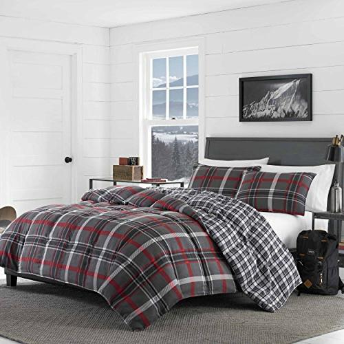 Eddie Comforter Set, Twin, Grey