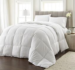 Piped Edges White Down Alternative Comforter/Duvet Insert Ul