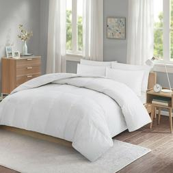 Puredown Lightweight White Goose Down Fiber Comforter with 1