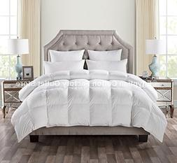 LUXURIOUS CAL KING Size White Goose Down Alternative Comfort