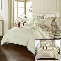 Chic Home Maddie 10 Piece Reversible Comforter Bed in a Bag