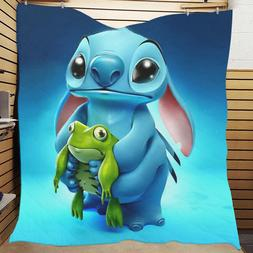 New Coverlet Custom Lilo And Stitch Bedding Bedspreads Home