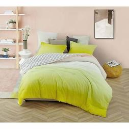 Byourbed Ombre Sunshine Comforter Yellow King, King Sham
