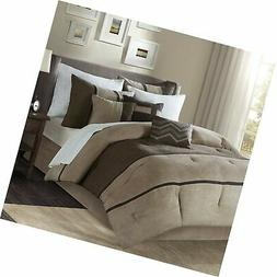 Madison Park Palisades Cal King Size Bed Comforter Set Bed i