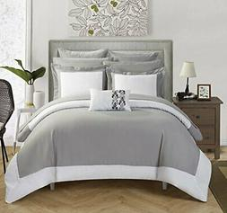 Chic Home Peninsula 10 Piece Comforter Reversible Two Tone H