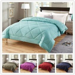 Premium Down Alternative Comforter All Season Reversible Com