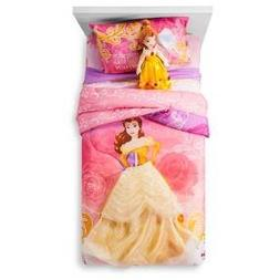 Princess Beauty and the Beast Twin Microfiber Comforter w/Re