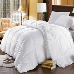 Royal Hotel White Goose Extra Warmth Down Comforter 500 thre