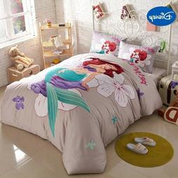 DISNEY'S LITTLE MERMAID 5PC  DUVET COVER COMFORTER SET TWIN
